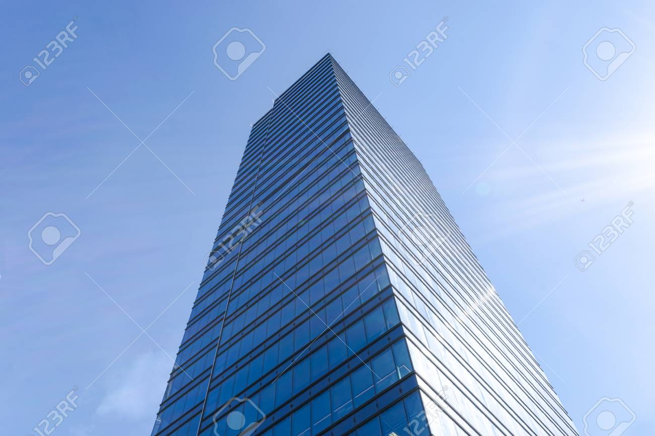 high tech modern architecture buildings. Fine Modern Details Of Office Building Exterior Business Buildings Skyline Looking Up  With Blue Sky Modern In High Tech Architecture Buildings