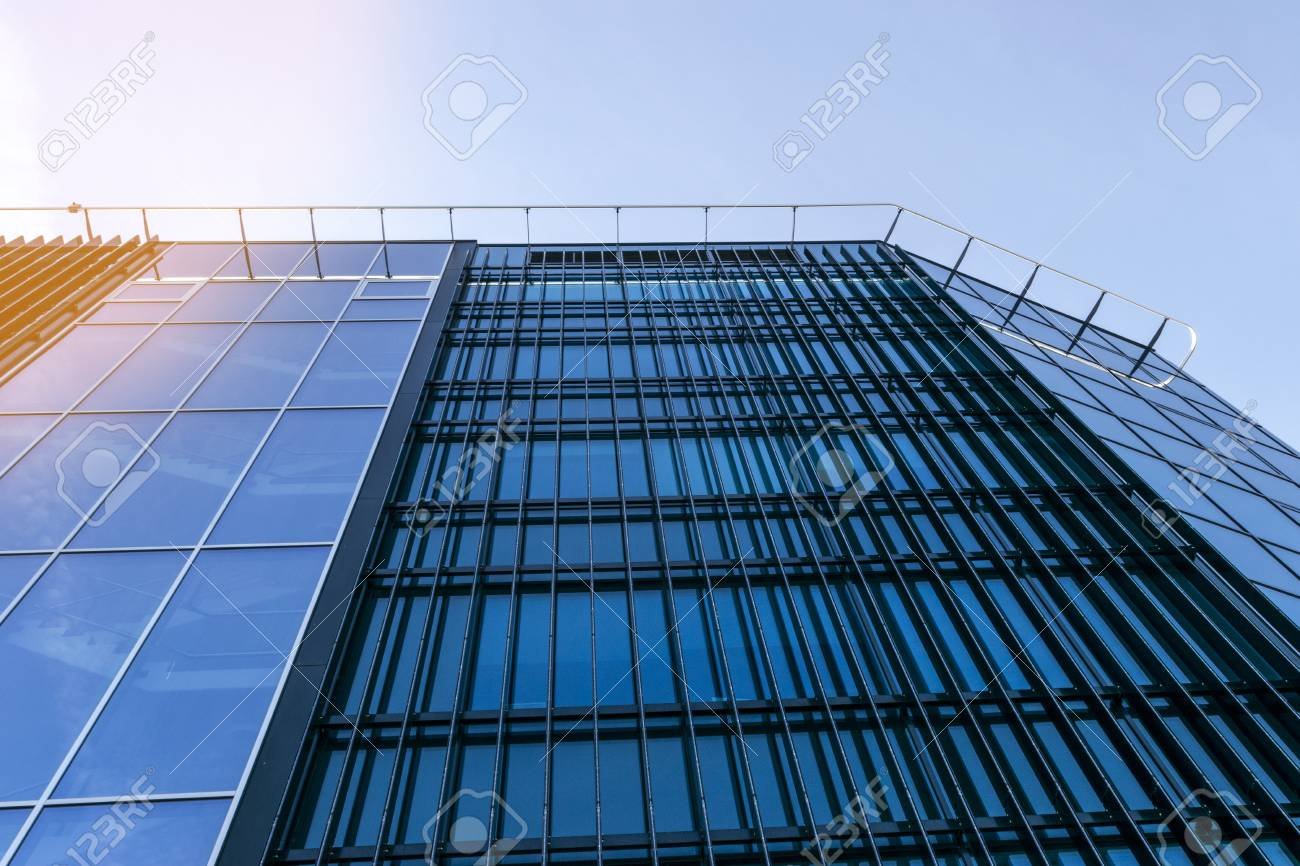 high tech modern architecture buildings. Exellent Modern Details Of Office Building Exterior Business Buildings Skyline Looking Up  With Blue Sky Modern Inside High Tech Architecture Buildings