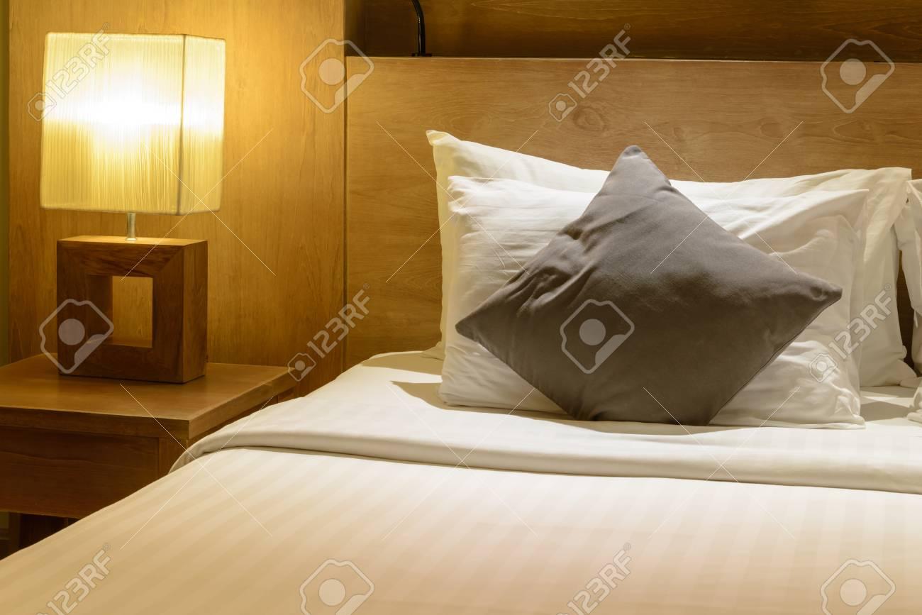 Belle Chambre à Coucher, Chambre Moderne, Maison Moderne Banque D ...