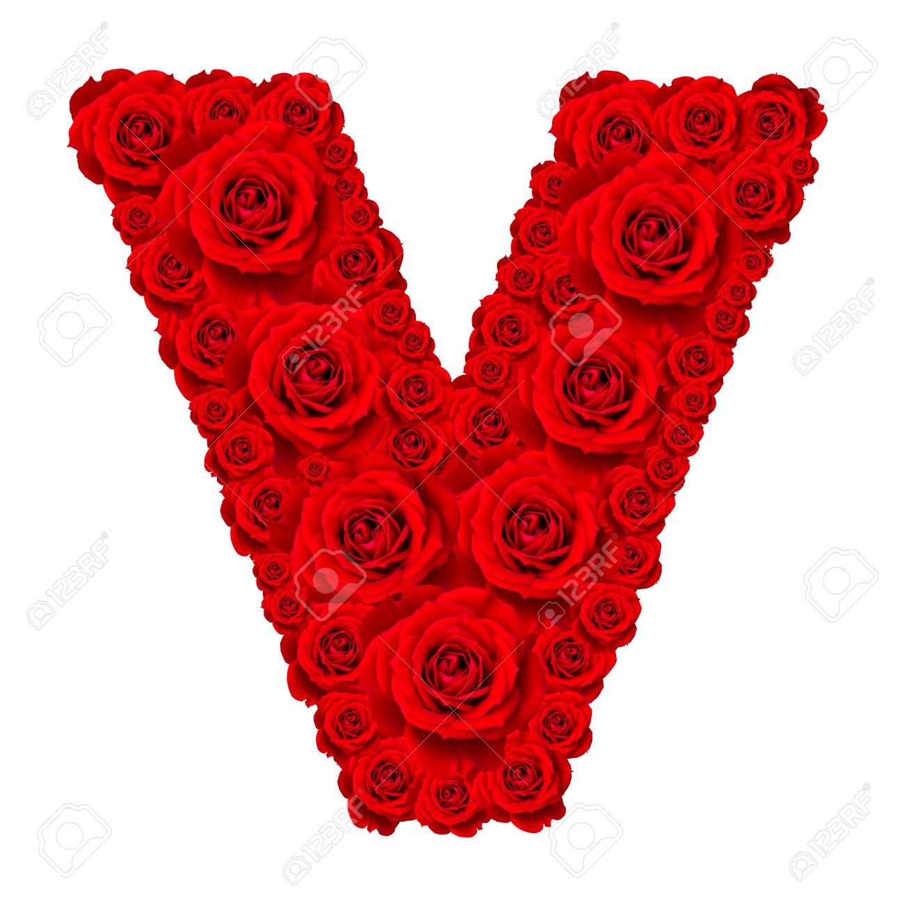 Rose Alphabet Set
