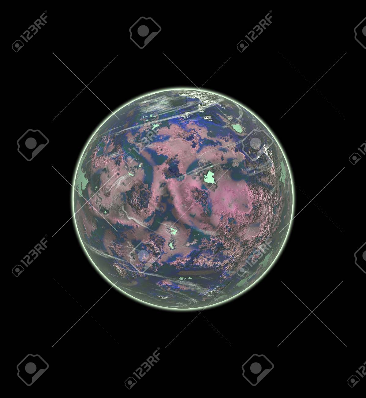 planet in space Stock Photo - 10102654
