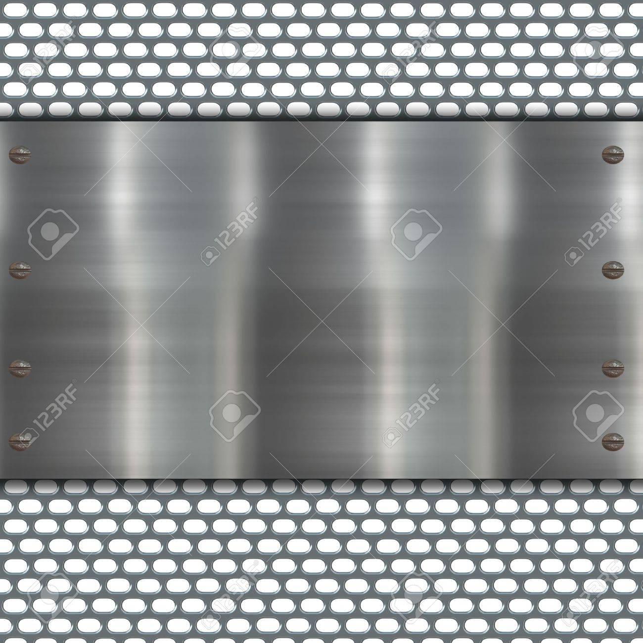 metal banner Stock Photo - 11253183