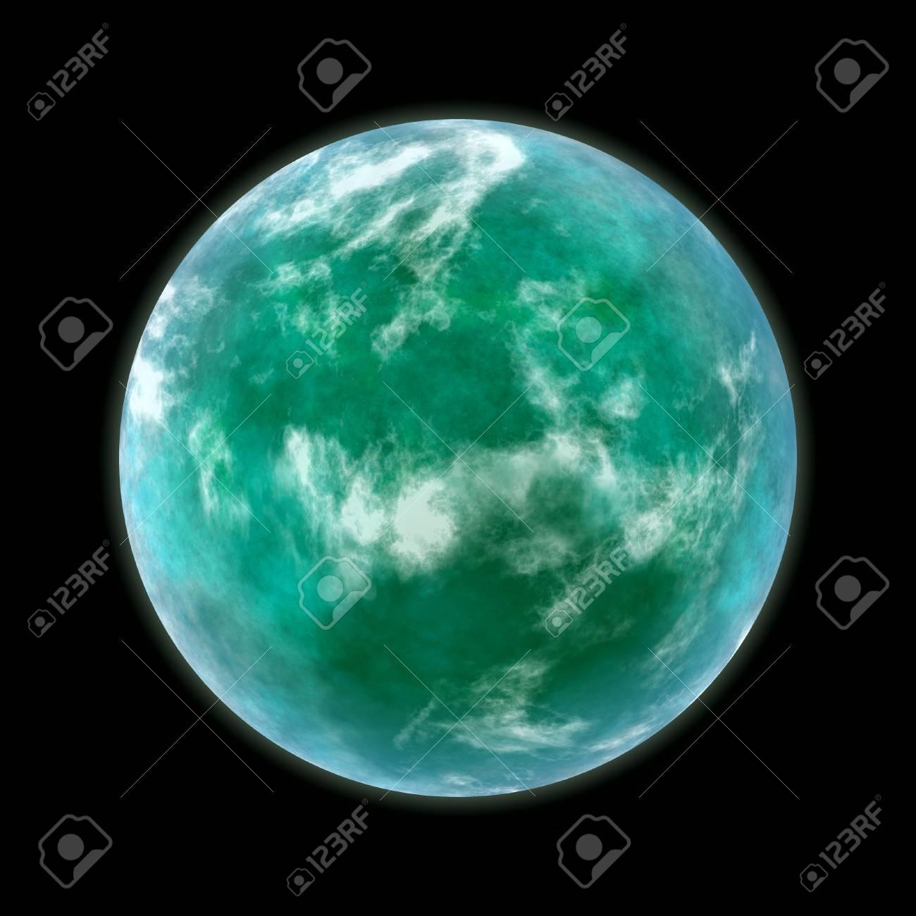 green planet Stock Photo - 13014293