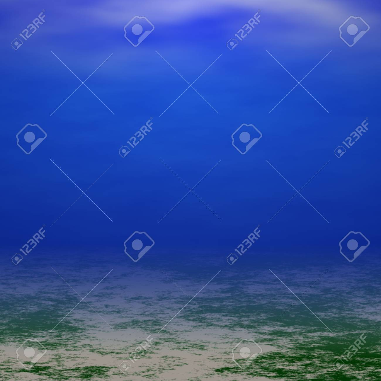 underwater scene Stock Photo - 13550167