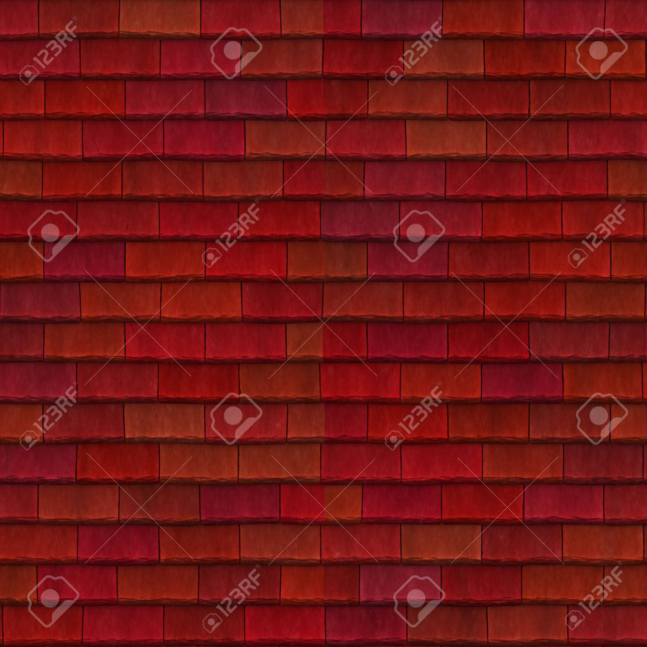 red roof Stock Photo - 21953769
