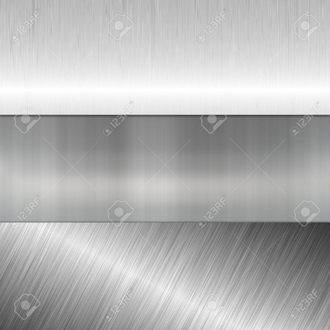 metal banners Stock Photo - 24668110