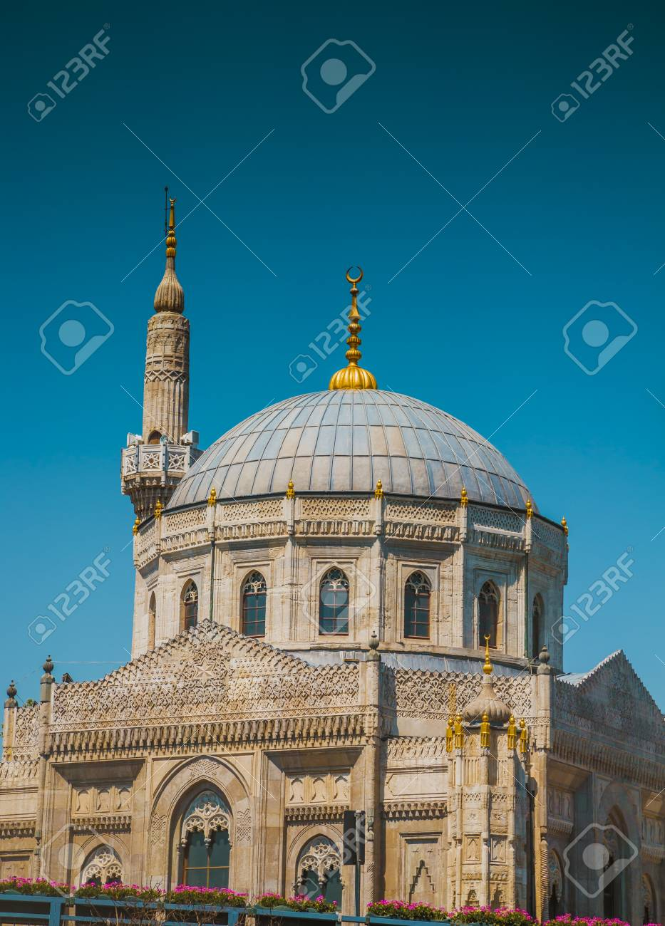 Ancient Ottoman Mosque In Turkey Made In 16th Century Stock Photo