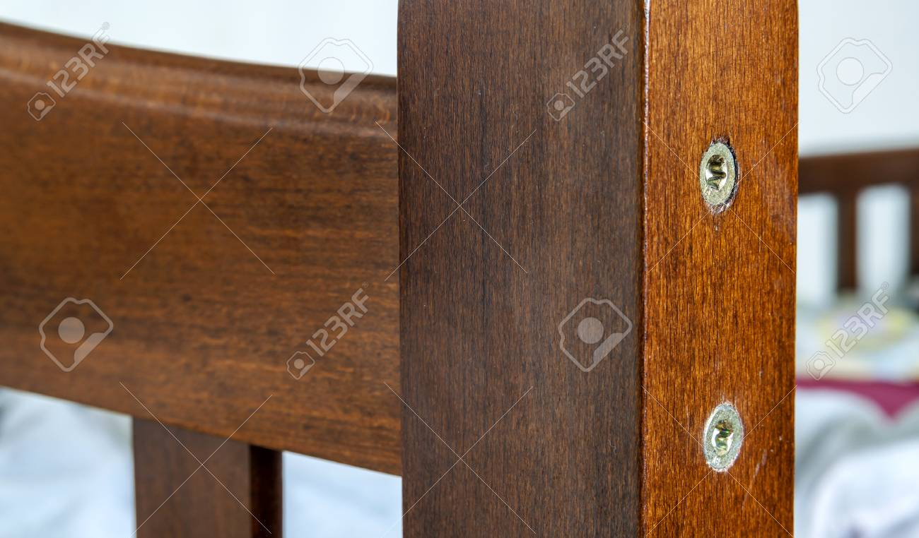 Close up detail of wooden textured furniture stock photo 76965609