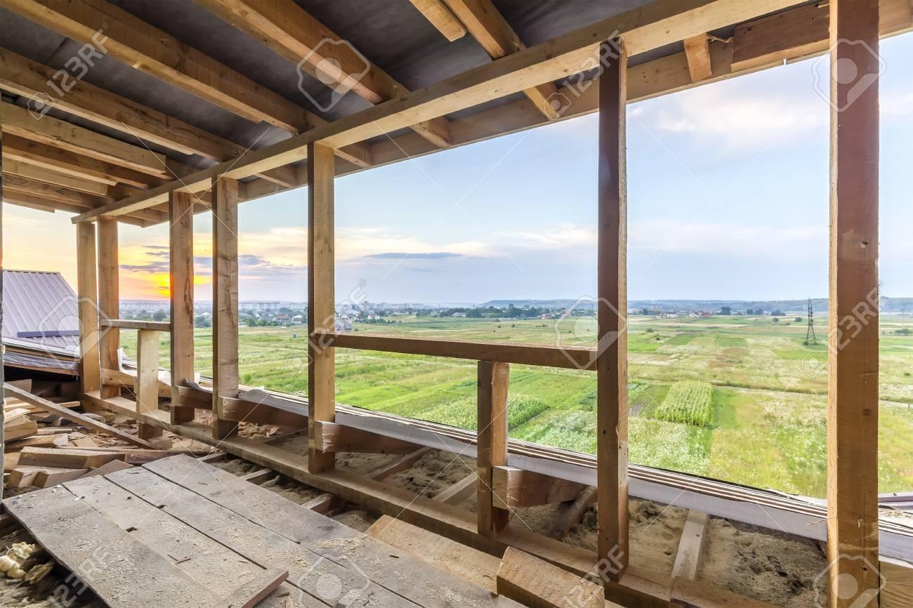 Nuevo Encuadre De Viviendas De Construcción Residencial. Estructura ...