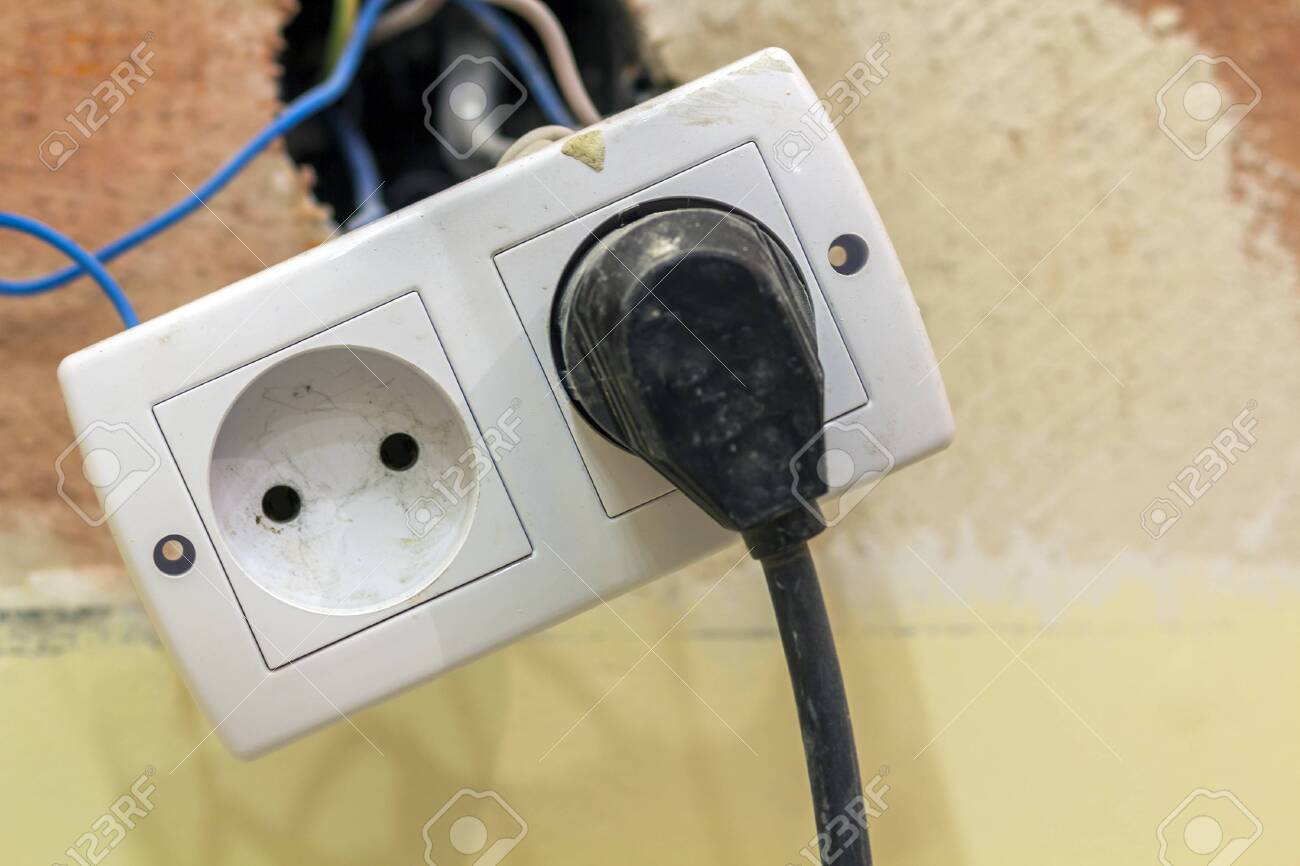 Power outlet in double socket with connecting electric isolated.. on electrical box, electrical tools, electrical engineering, electrical volt, electrical cables, electrical grounding, electrical shocks, electrical receptacle types, electrical fire, electrical energy, electrical cord, electrical conduit, electrical diagrams, electrical equipment, electrical circuits, electrical technology, electrical repair, electrical wire, electrical fuses, electrical contracting,