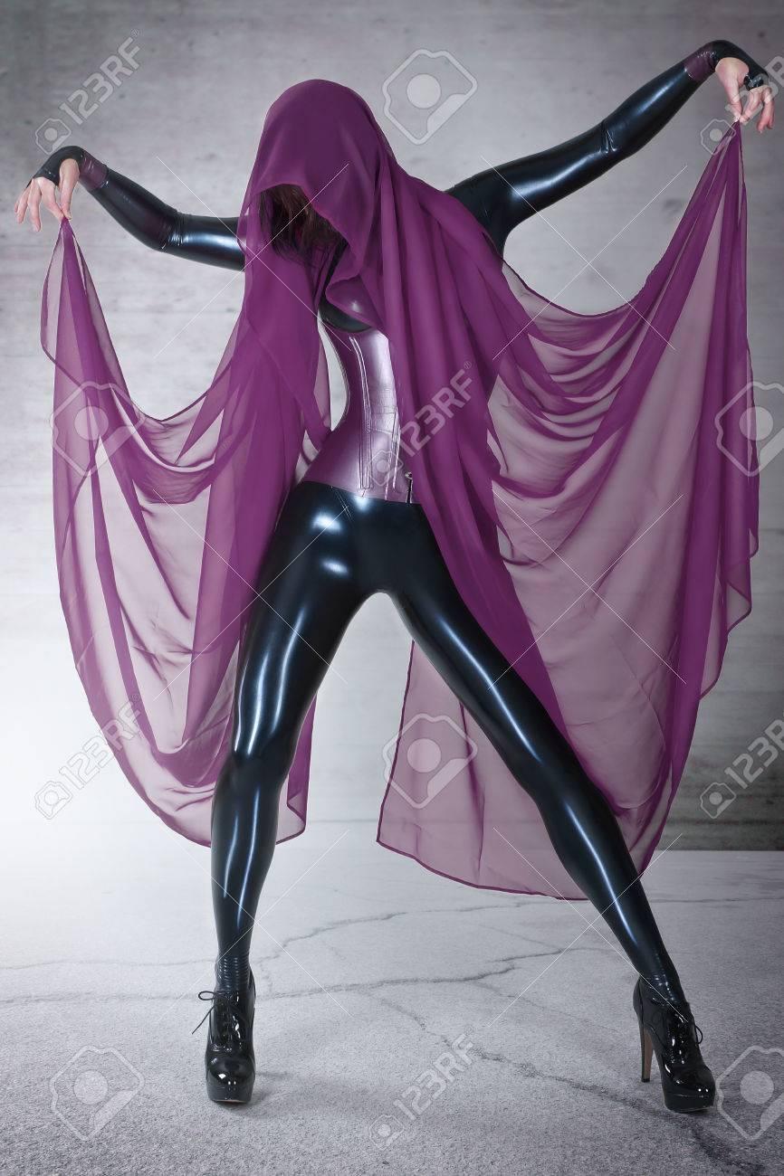 latex catsuit girls
