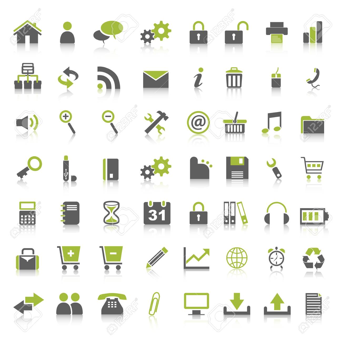 Web Icons Stock Vector - 9221035