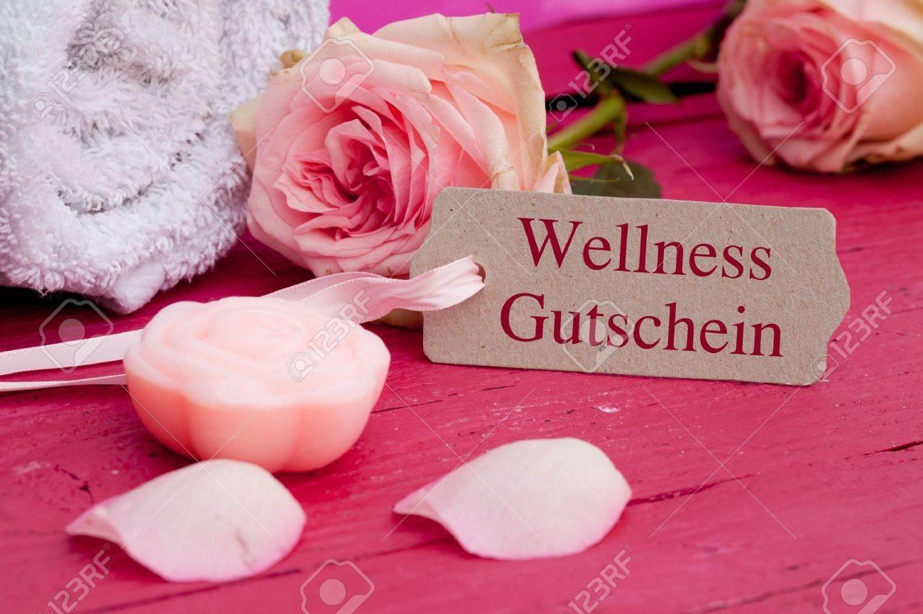 Wellness gutschein  Wellness Gutschein Stock Photo, Picture And Royalty Free Image ...