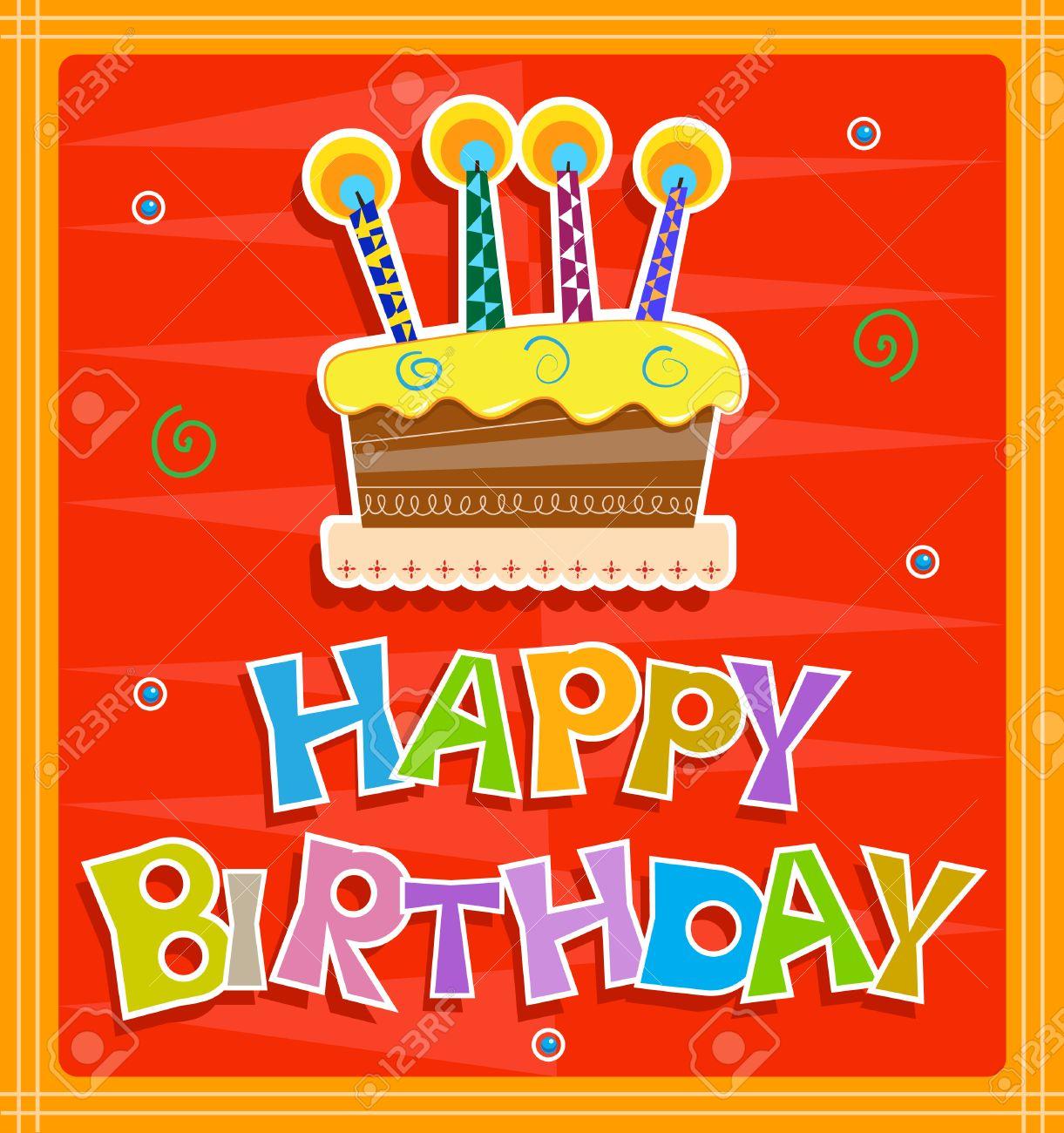 Happy Birthday Card Cheerful Birthday Greeting Card Design – Latest Birthday Cards Designs