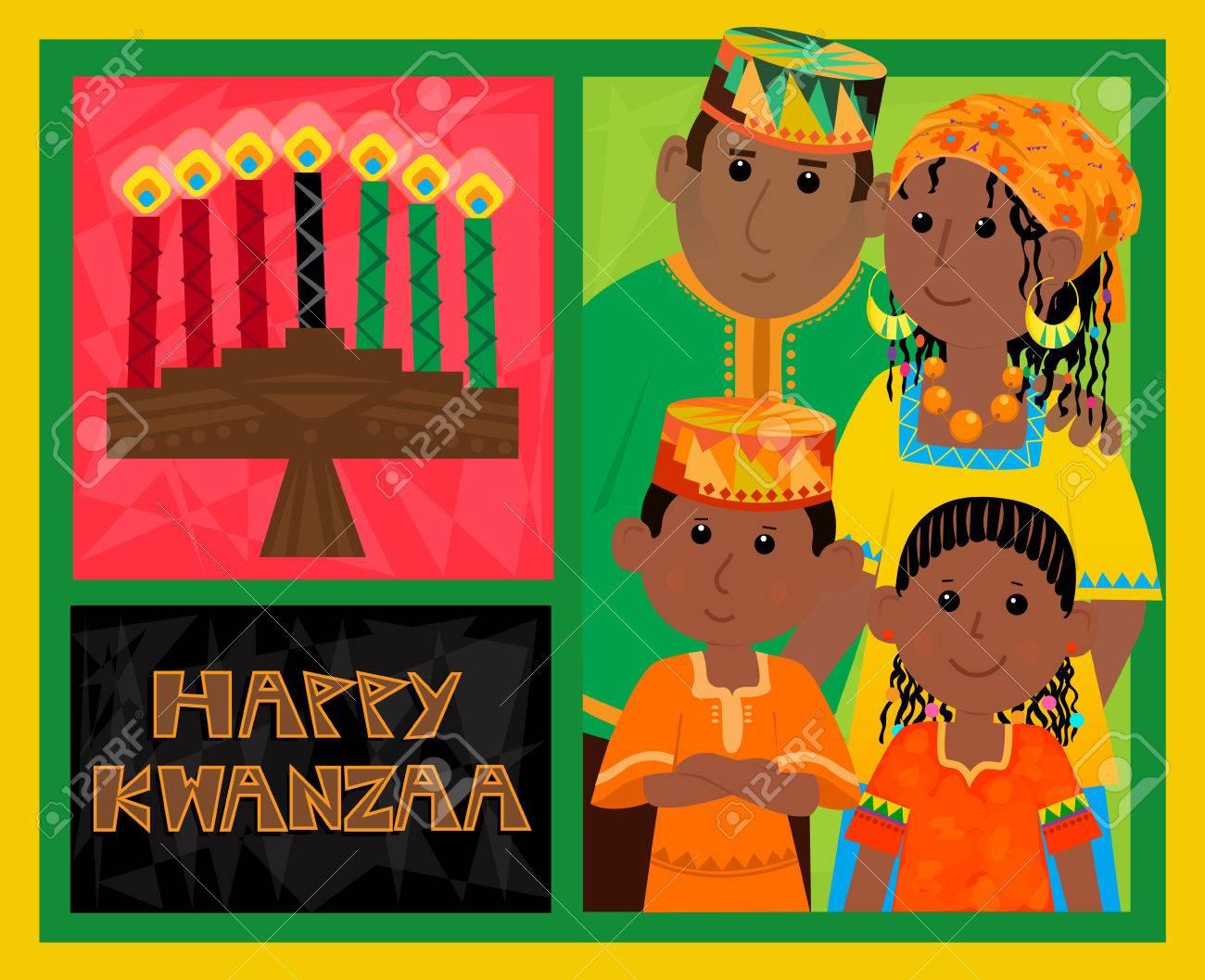 Kwanzaa card selol ink kwanzaa card m4hsunfo