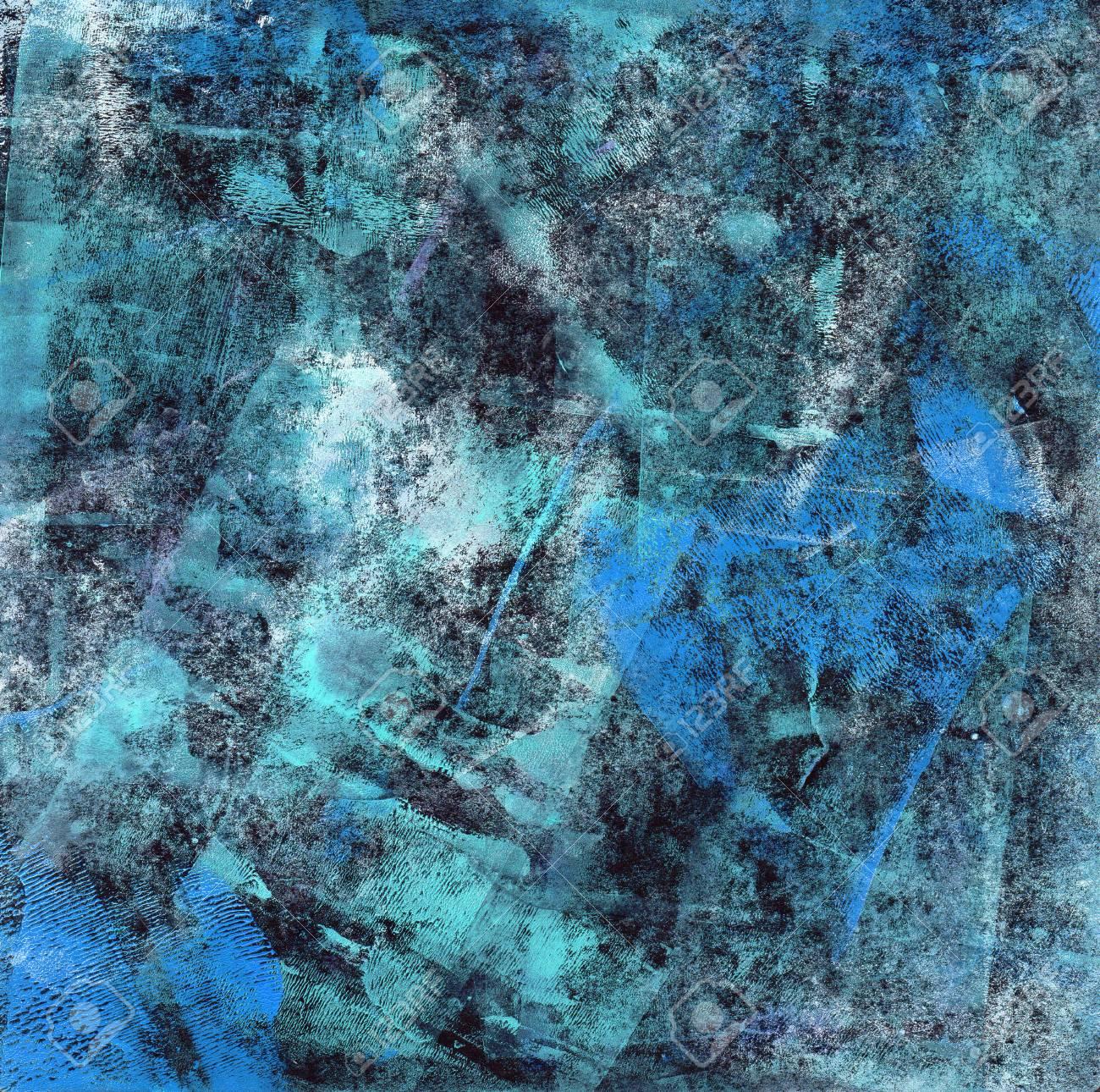 banque dimages blue abstract abstract texture des diffrentes nuances de bleu faites avec de la peinture acrylique