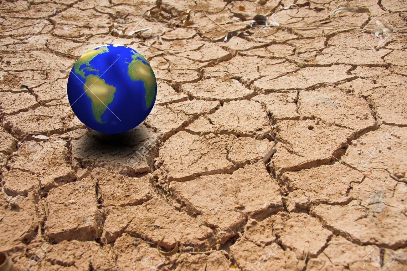 Dry soil and climate. Stock Photo - 12072951