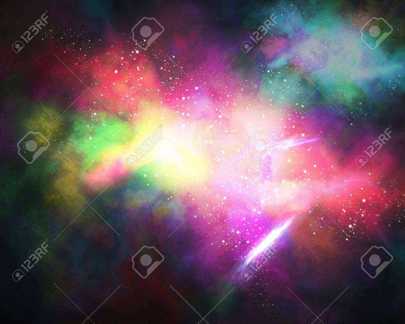 galaxy Orion in the universe Stock Photo - 12915434