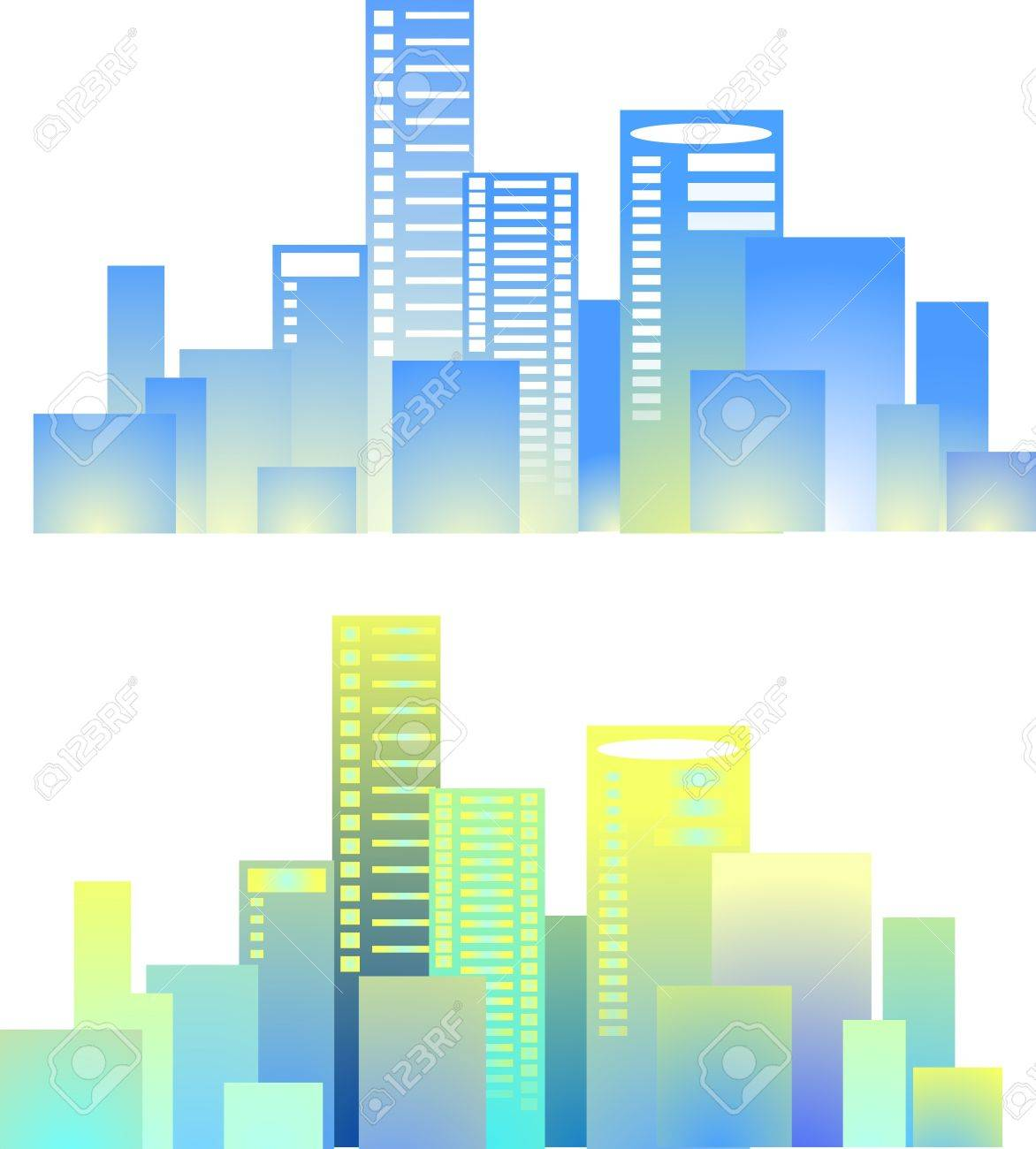 City buildings vector Stock Vector - 13526855