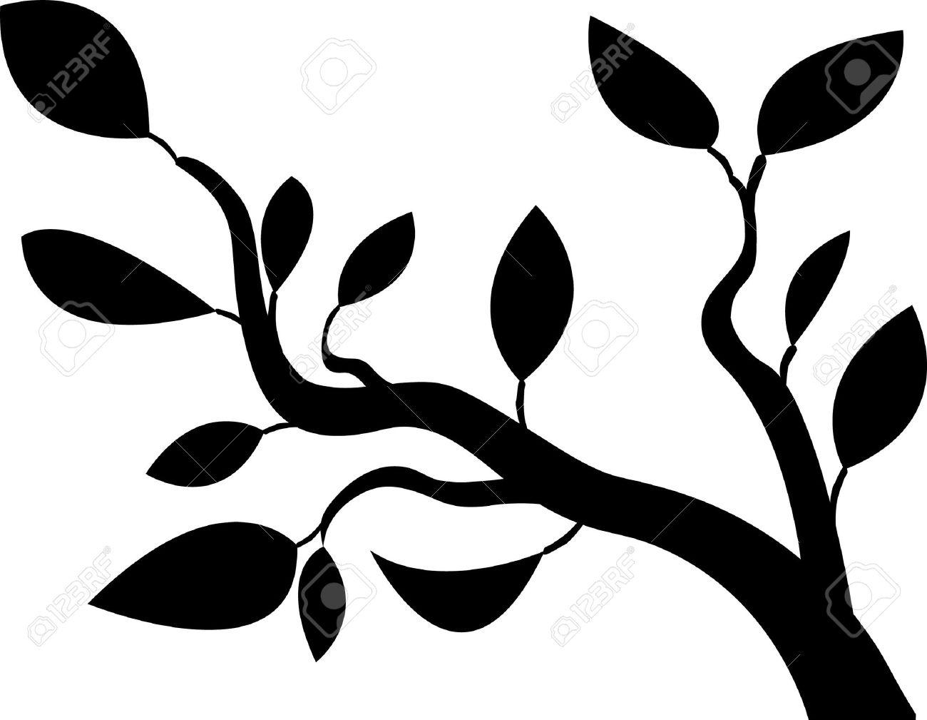 black tree vector Stock Vector - 13931633
