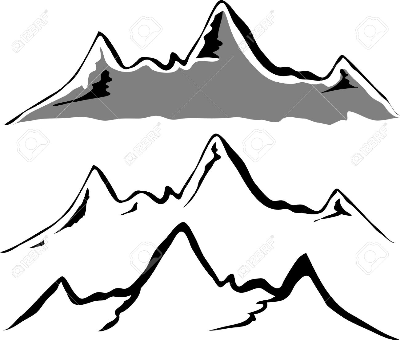 Mountain Silhouette 37,085 mountain silhouette stock vector illustration and royalty