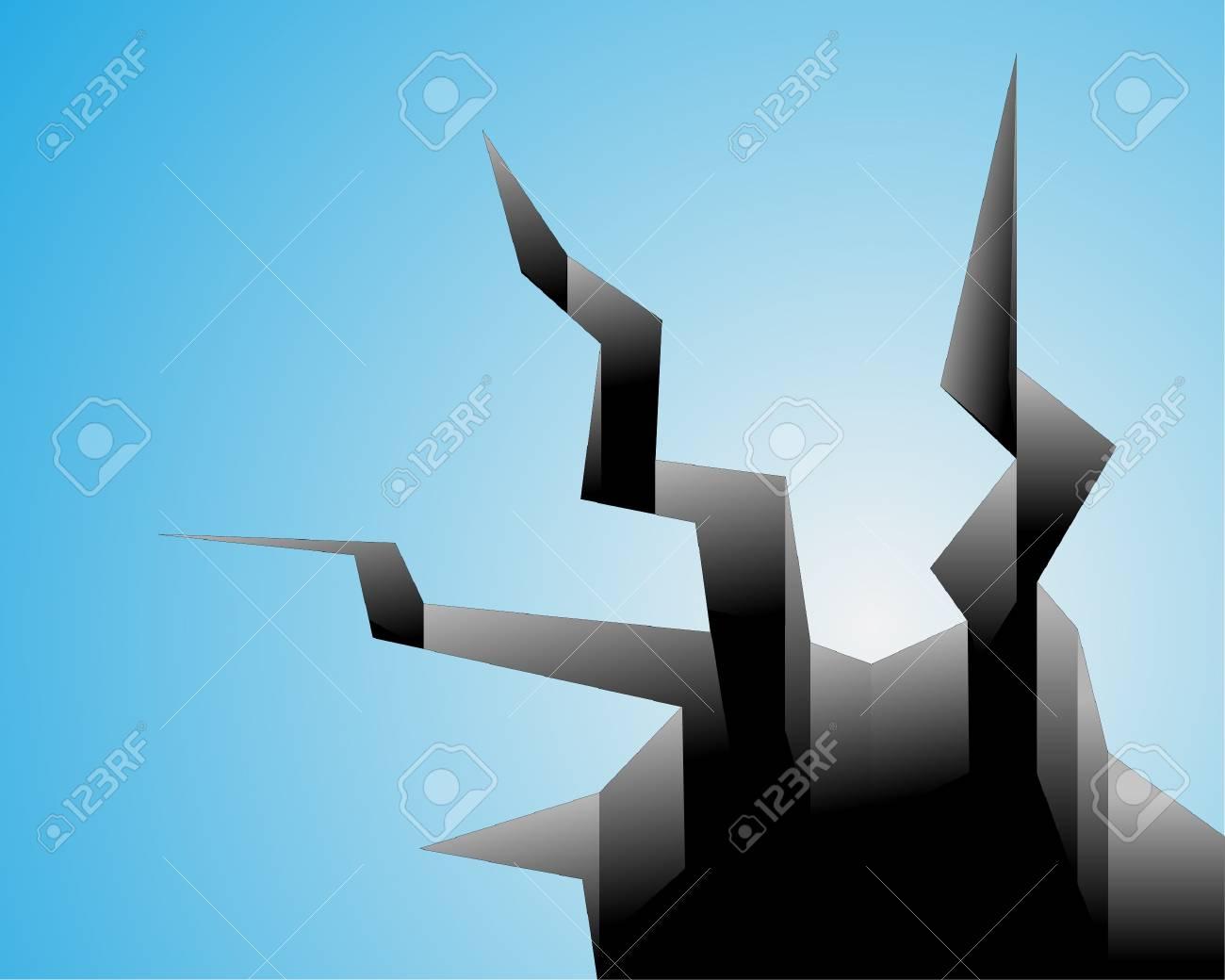 Earthquake vector Stock Vector - 14391703