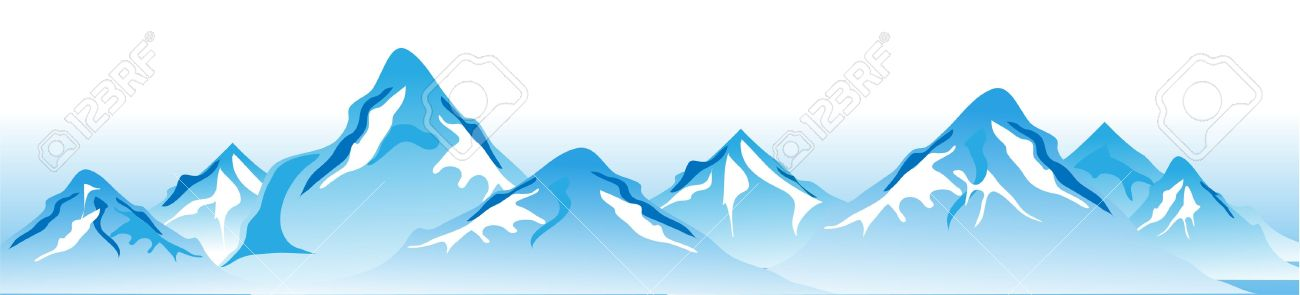 Winter mountains Vector Stock Vector - 14391711