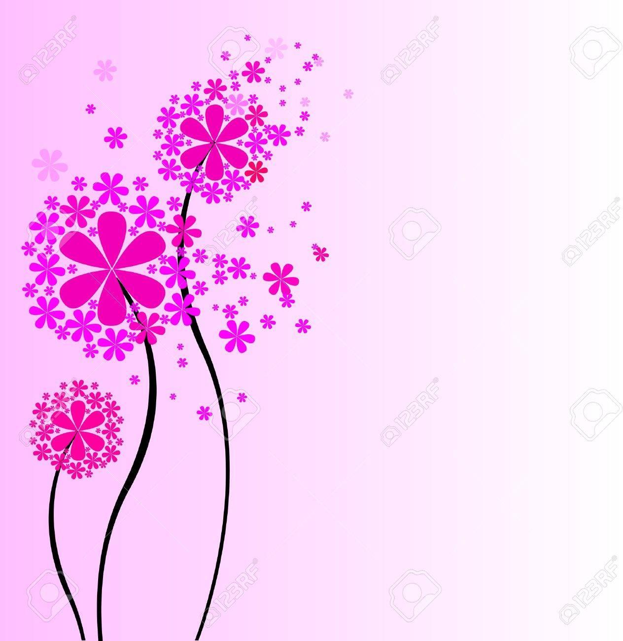 花のイラストかわいいブーケのイラスト素材ベクタ Image 14728647