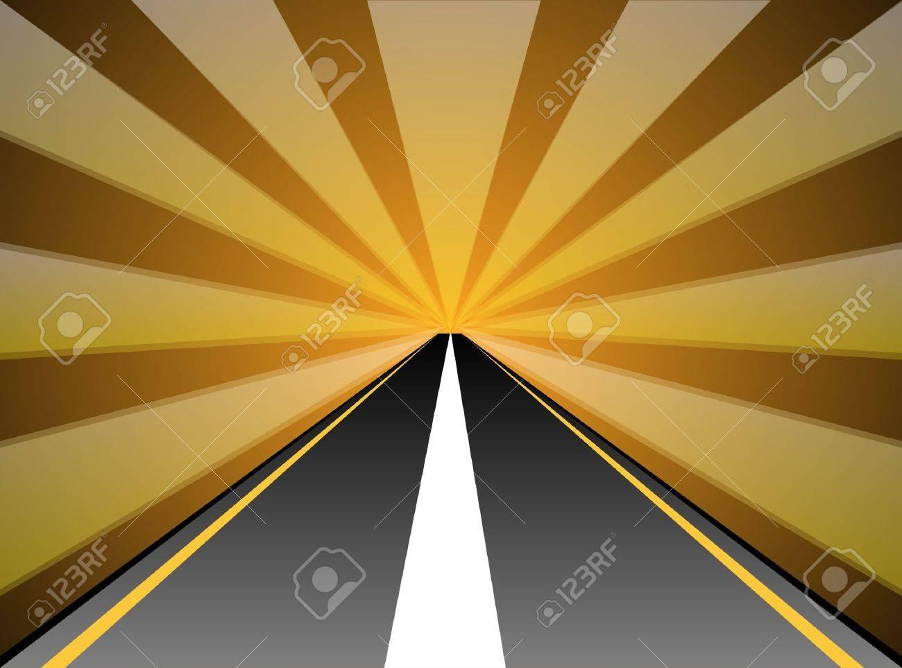 road Stock Vector - 15960539