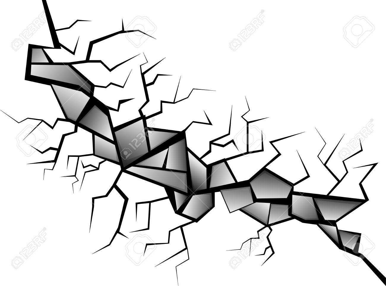 Broken glass Stock Vector - 18092835