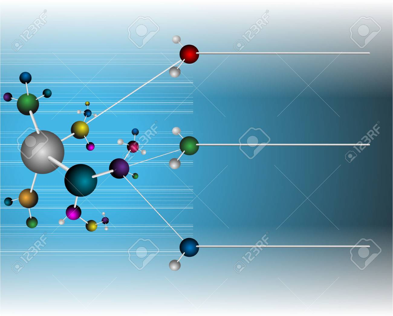 Molecular Medicine chromosome vector Stock Vector - 24616624