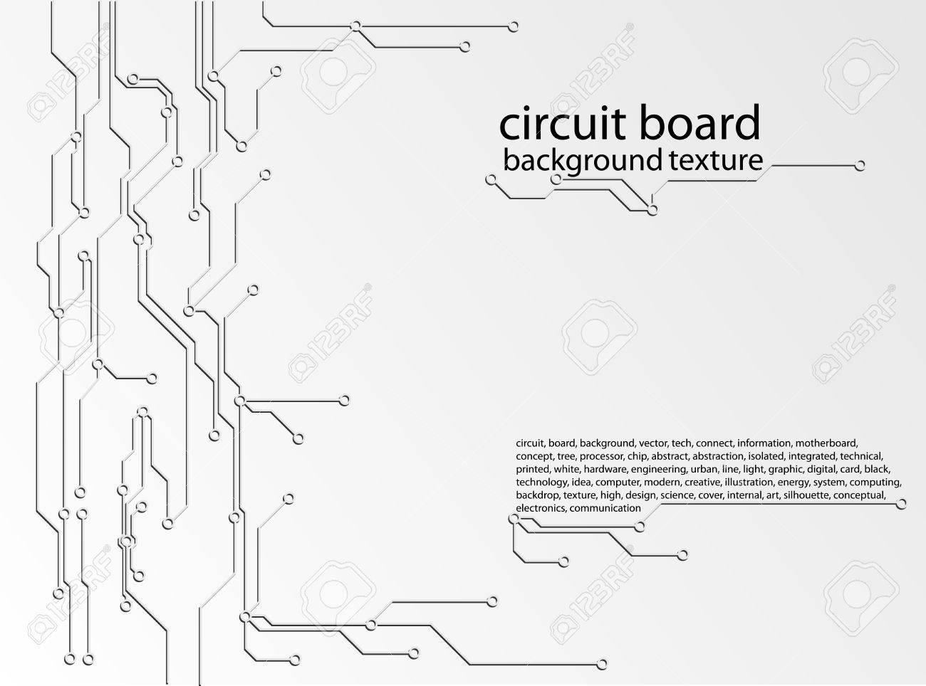 Abstract Circuit Board Background Texture Royalty Free Cliparts Stock Image Of Printed Sciencestockphotoscom Vector 26530317