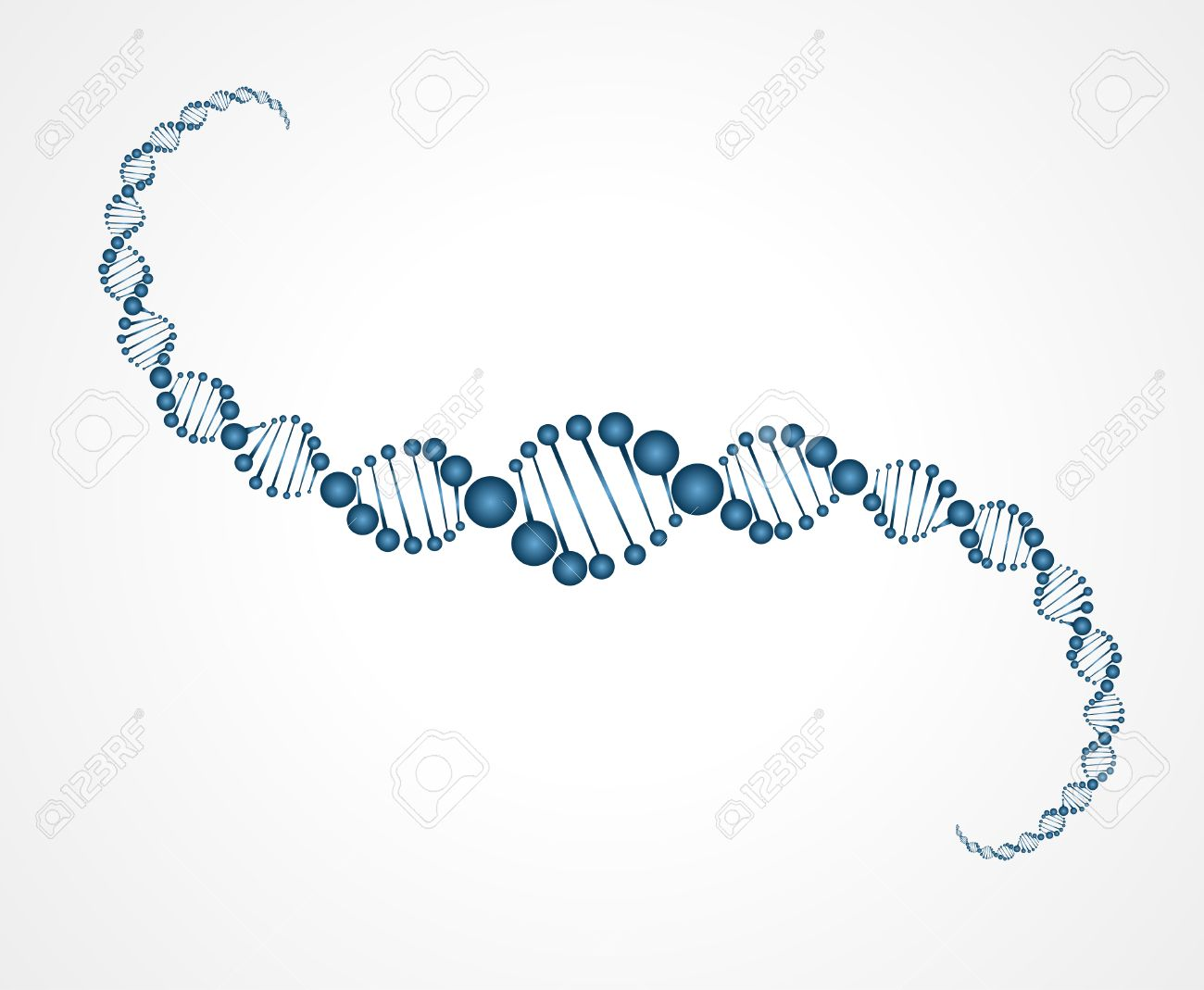 DNA molecule structure background  vector illustration Stock Vector - 27291423