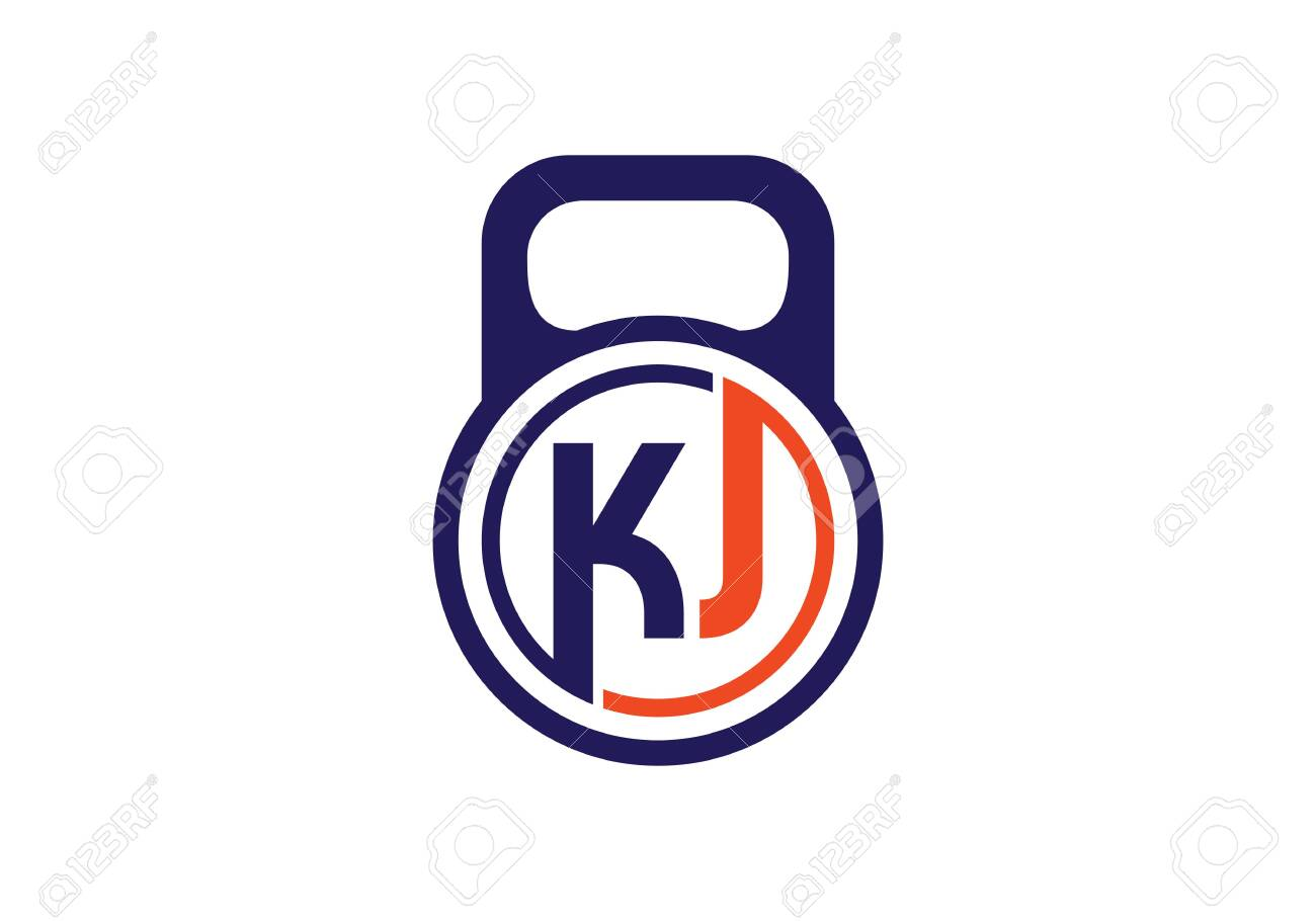 Initial Monogram Letter K J Logo Design Vector Template Kj Letter Royalty Free Cliparts Vectors And Stock Illustration Image 145076253
