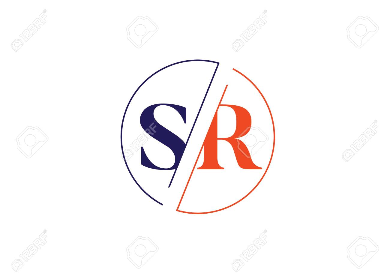 Initial Monogram Letter Sr Logo Design Vector Template Graphic Royalty Free Cliparts Vectors And Stock Illustration Image 146159548