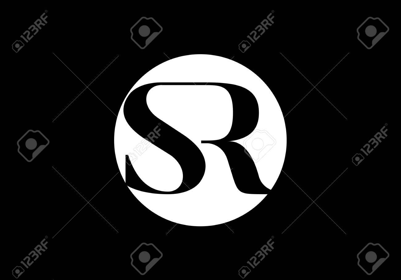 Initial Monogram Letter SR Logo Design Vector Template. Graphic Alphabet Symbol for Corporate Business Identity - 146159564