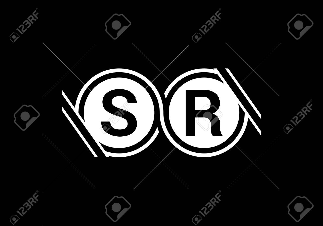 Initial Monogram Letter S R Logo Design Vector Template Sr Letter Royalty Free Cliparts Vectors And Stock Illustration Image 146159625