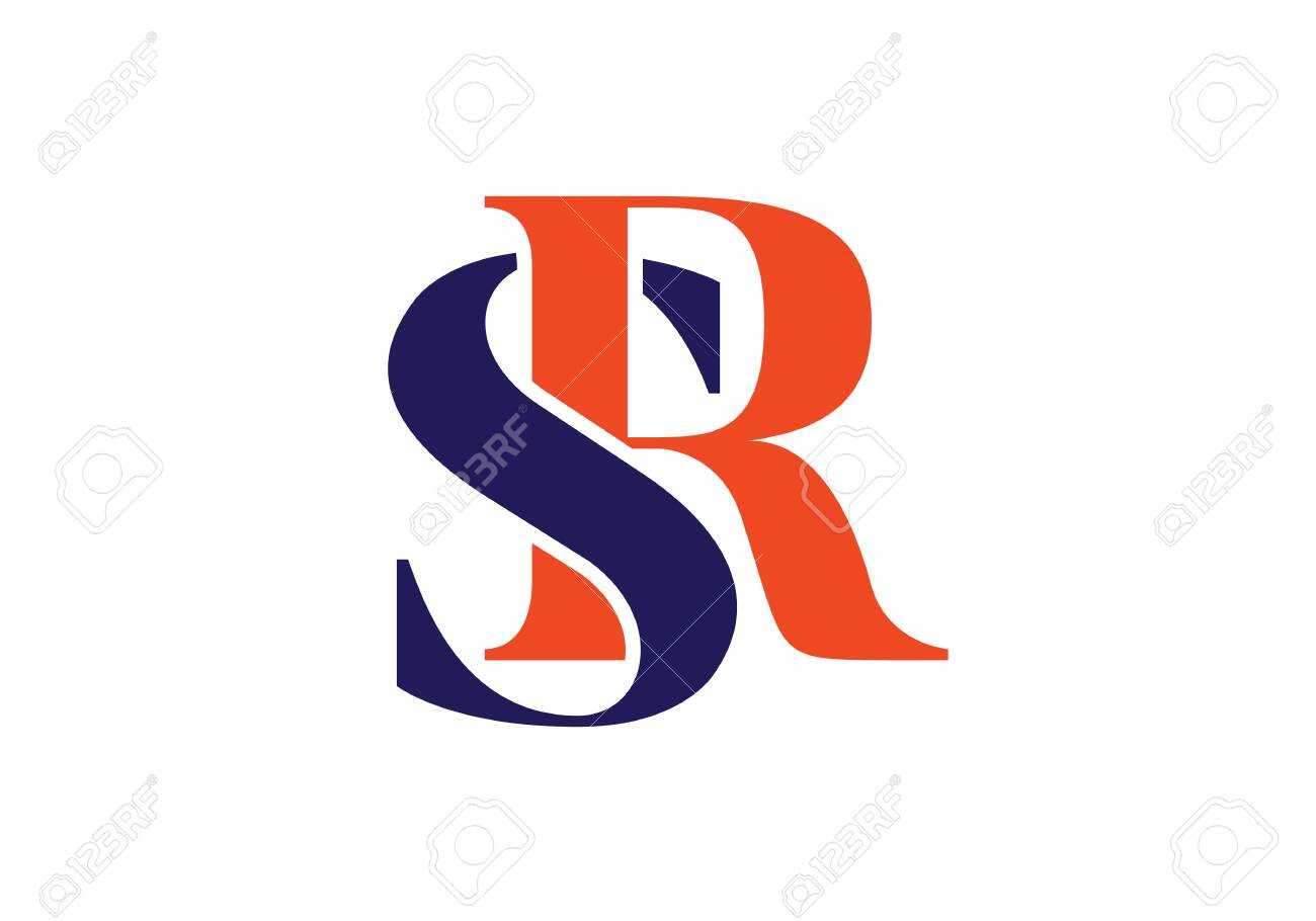 Initial Monogram Letter Sr Logo Design Vector Template Graphic Royalty Free Cliparts Vectors And Stock Illustration Image 146159632