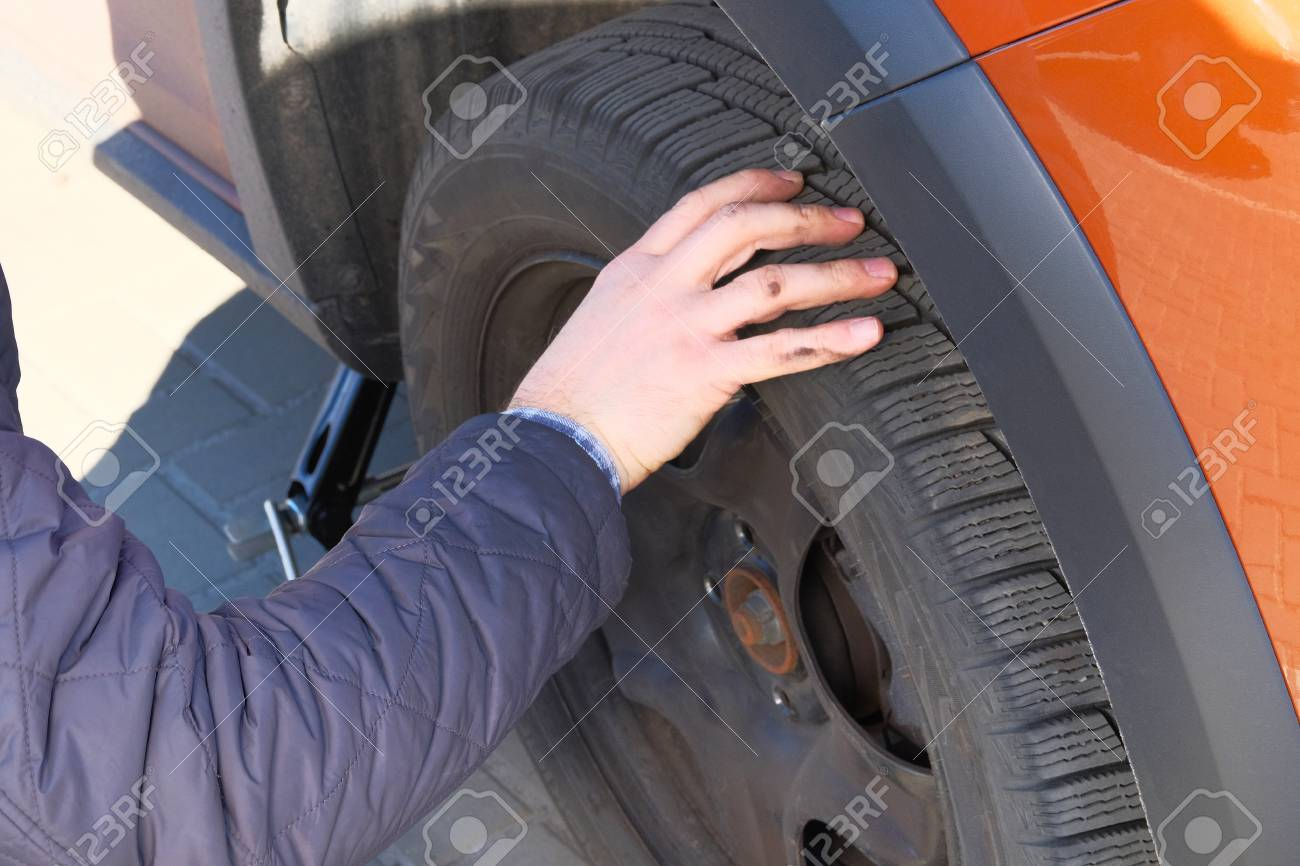 wheel balancing or repair and change car tire. automobile maintenance..