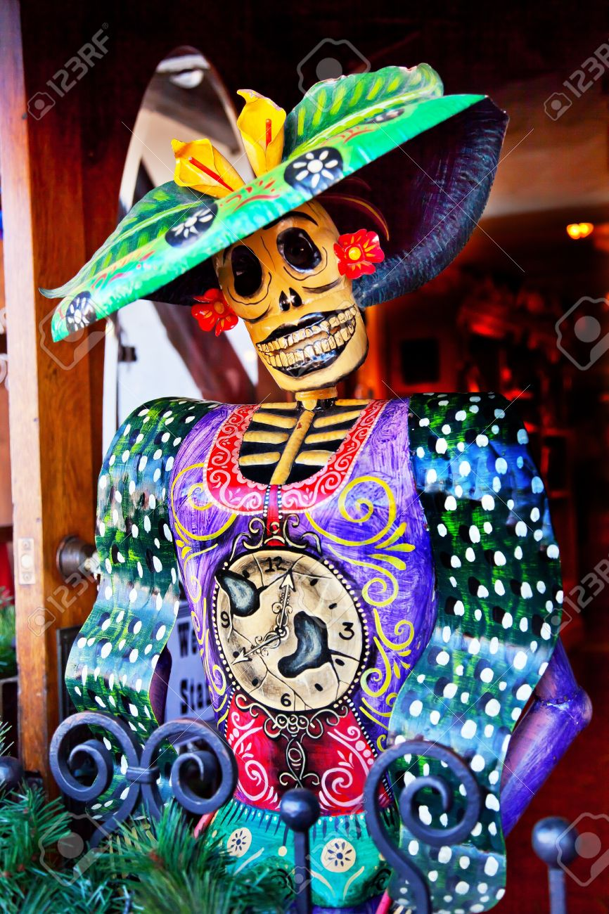 Mexican Christmas Decorations.Mexican Christmas Dead Figure Decorations Old San Diego Town