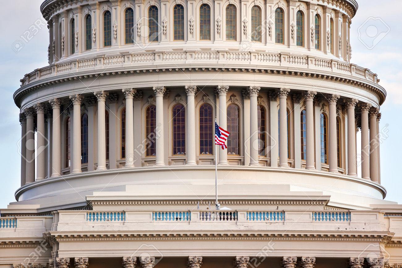 US Capitol Dome Houses of Congress Washington DC Stock Photo - 17776812