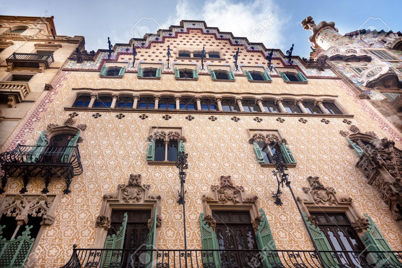 df9718efa5 Casa Mila Antoni Gaudi House Museum Barcelona Catalonia Spain Built between  1906-19104 Stock Photo