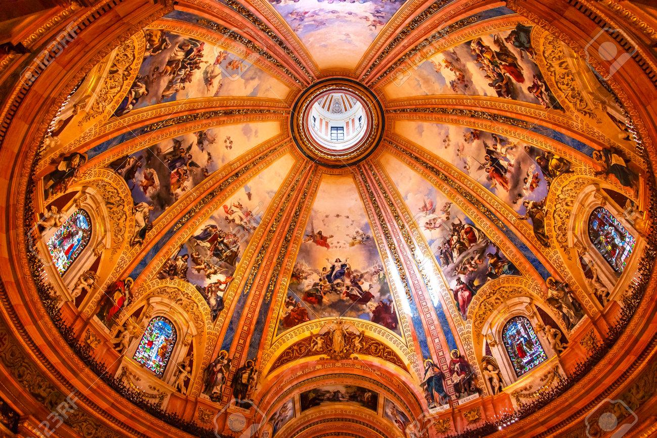 Resultado de imagen de real basilica san francisco el grande cupula