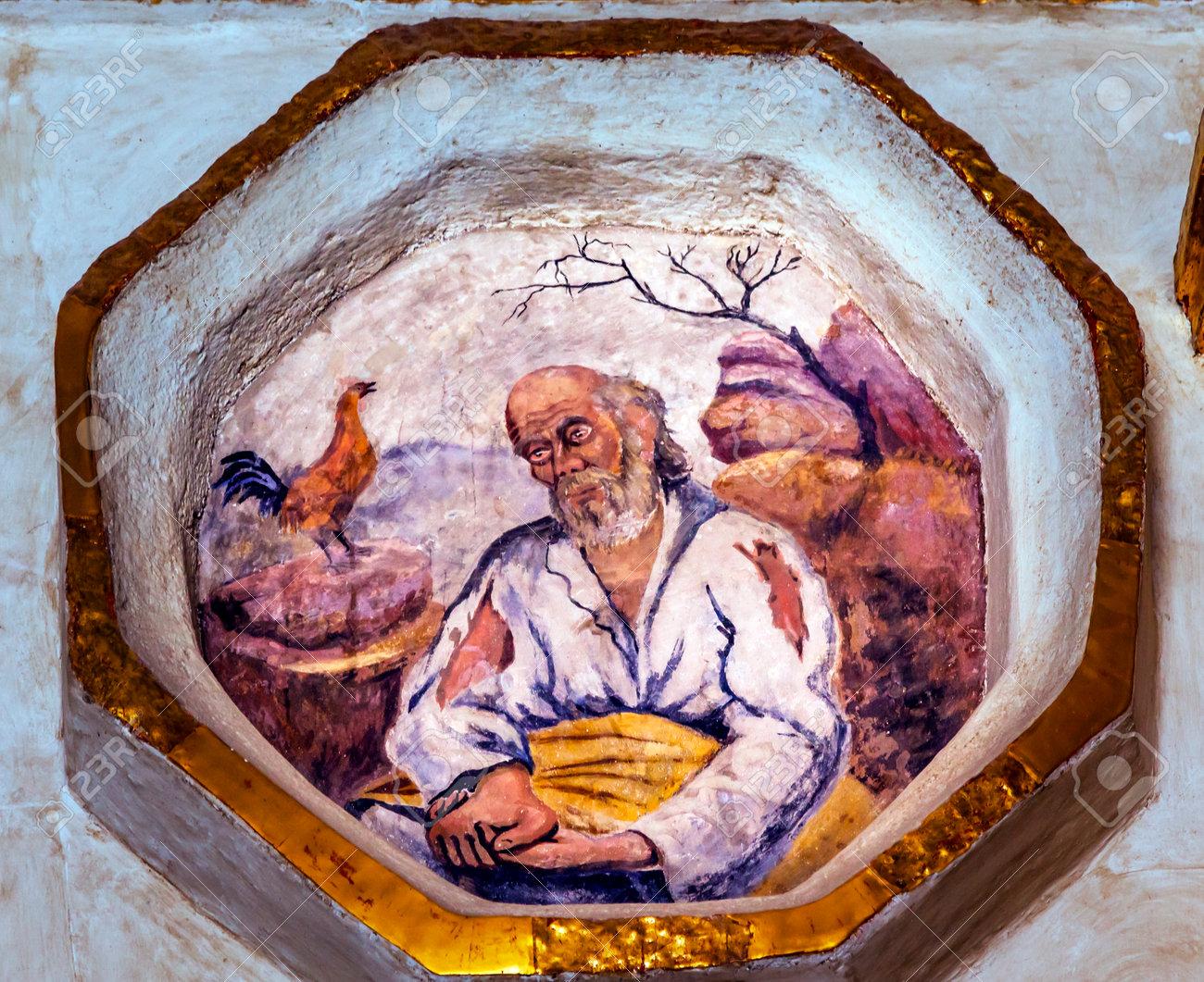 Pedro negando a Jesús