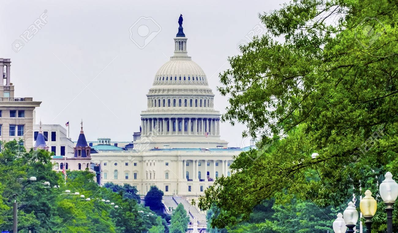 Us Capital Pennsylvania Avenue After The Snow Washington Dc Traffic Stock Photo Picture And Royalty Free Image Image 83225846