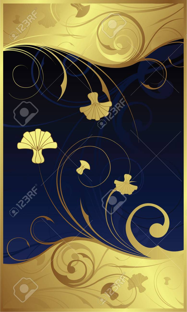 Swirl Floral 1-3 Stock Vector - 3106193