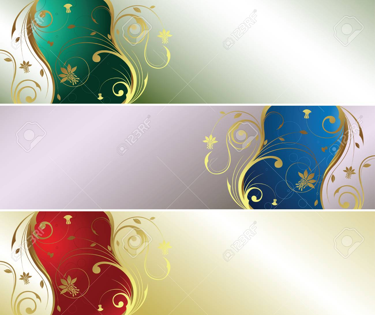 Pearl Floral 1-4 Stock Vector - 3106194
