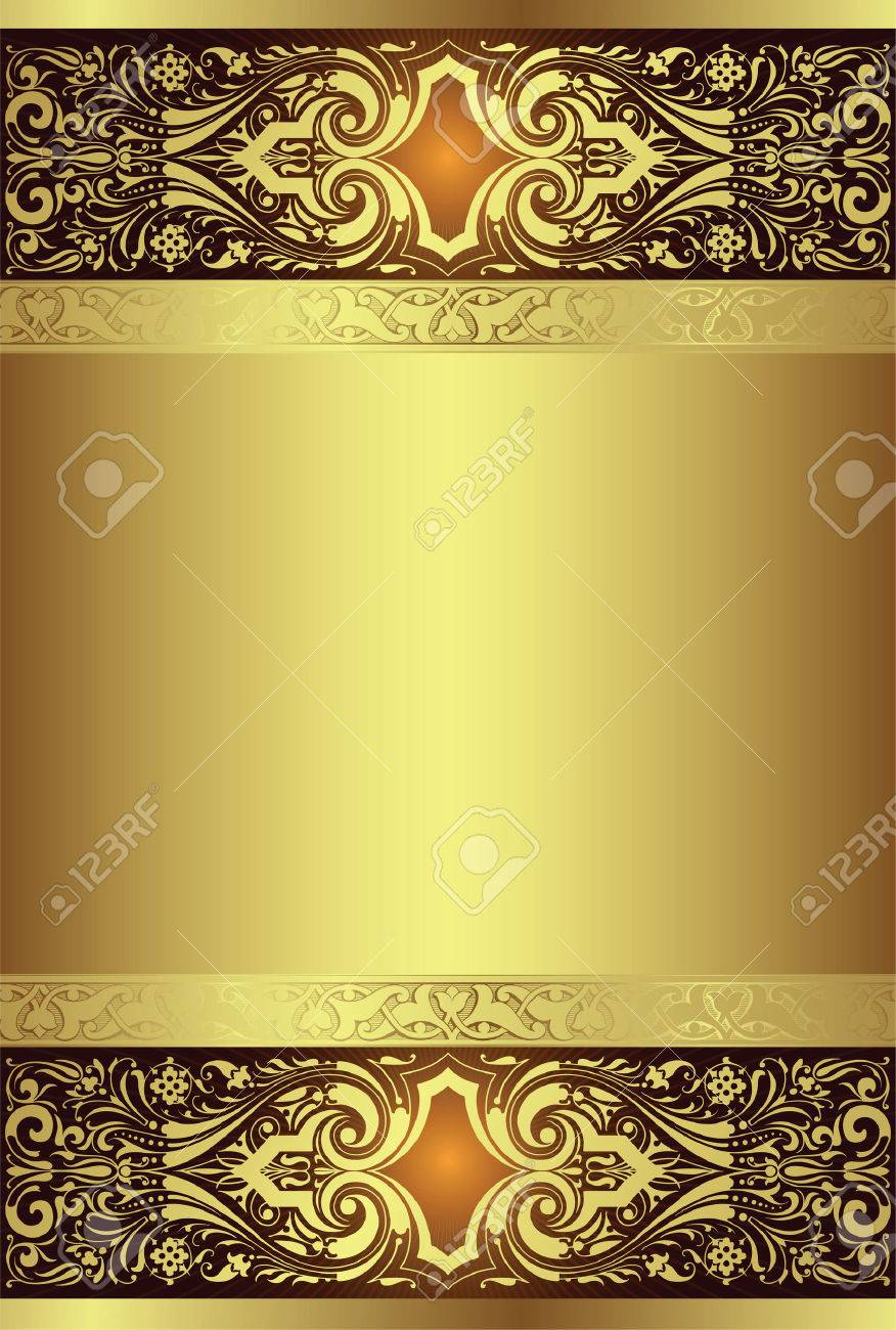 golden background Stock Vector - 3124202