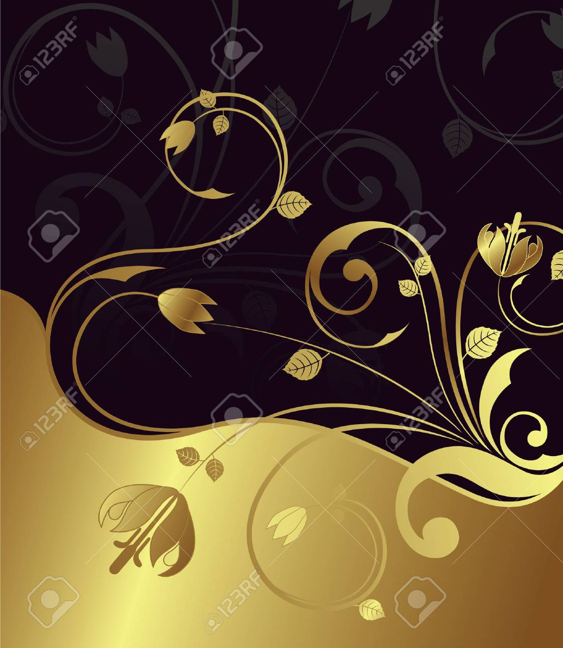 elegance floral background Stock Vector - 3124206