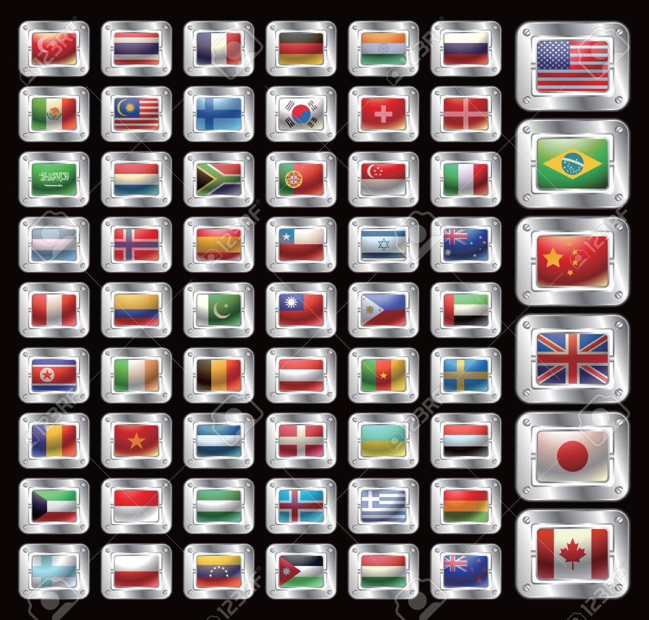 Flag Icon Stock Vector - 5071302